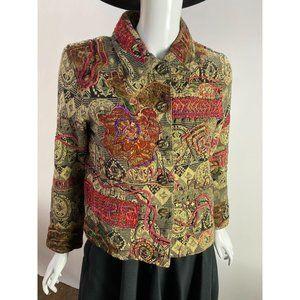 Coldwater Creek Petite Sized Embellished Jacket